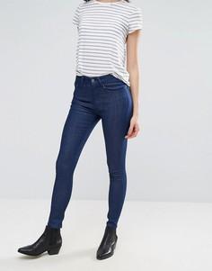 Укороченные классические джинсы скинни Waven Freya - Синий
