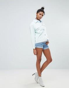 Джинсовые шорты в винтажном стиле Waven Inga - Синий
