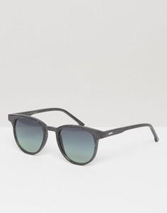 Солнцезащитные очки в квадратной оправе Komono Francis Neutro - Черный