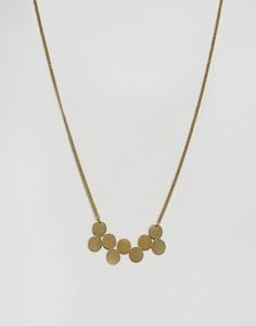 Золотистое ожерелье-кластер Made - Золотой