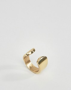Золотистое кольцо Made - Золотой