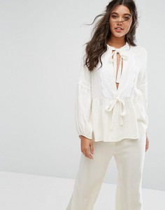 Блузка с длинными рукавами Stevie May Capture The Castle - Белый