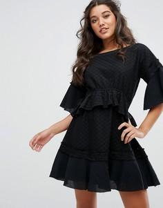 Платье мини Stevie May Camus - Черный