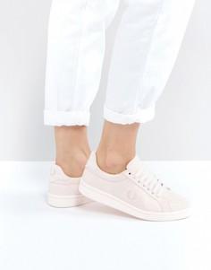 Хлопковые кроссовки Fred Perry B721 - Розовый