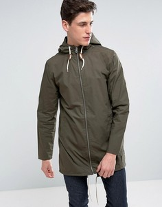 Легкая куртка с затягивающимся шнурком Threadbare - Зеленый