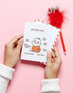 Поздравительная открытка по случаю рождения ребенка Ohh Deer - Мульти