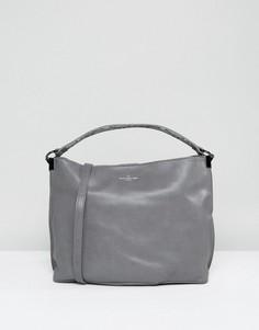 Серая сумка-хобо на плечо Pauls Boutique - Серый