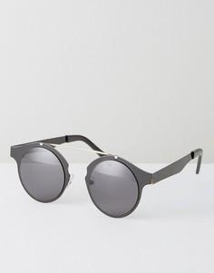 Черные круглые солнцезащитные очки Spitfire Intergalactic - Черный