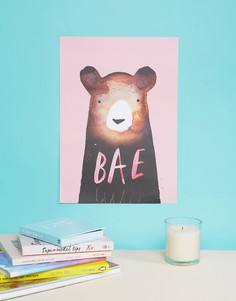 Постер размером 29,5 x 41,5 см с принтом BAE Jolly Awesome - Мульти