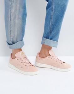 Кроссовки кораллового цвета adidas Originals Stan Smith - Розовый