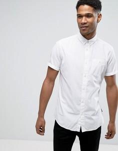 Узкая хлопковая рубашка Jack & Jones Originals - Белый