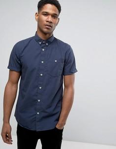 Узкая хлопковая рубашка Jack & Jones Originals - Черный