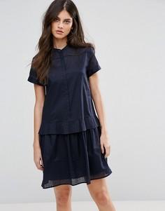 Платье-рубашка MAX&Co Delia - Синий