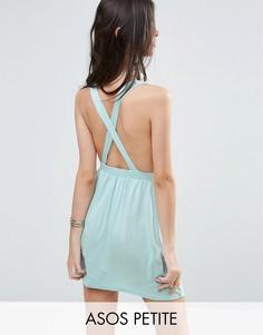 Пляжное платье мини ASOS PETITE - Синий