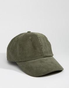 Вельветовая бейсболка Dead Vintage - Зеленый