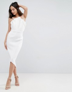Платье миди ASOS PREMIUM - Серый