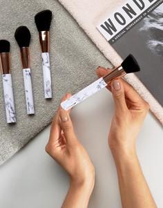 Набор контурных кистей с мраморными ручками Skinnydip Shut The Contour - Бесцветный