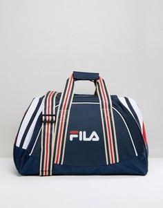 Темно-синяя сумка Fila Vintage Rocco - Темно-синий