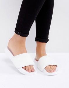 Меховые сандалии Truffle Collection - Белый
