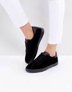 Кроссовки с контрастной отделкой Truffle Collection - Черный