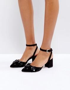 Черные туфли на каблуке с отделкой Ted Baker Odesca - Черный
