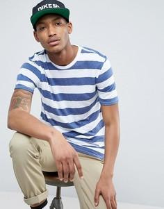 Белая футболка в полоску Nike SB Dri-FIT 841544-100 - Белый