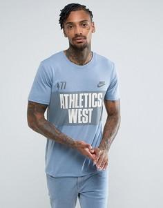 Футболка Nike Legacy Athletics 834642-436 - Синий