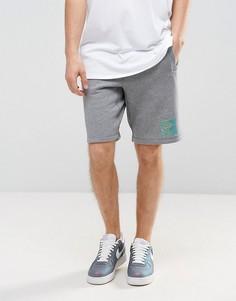Серые флисовые шорты Nike Air Heritage 835359-091 - Серый