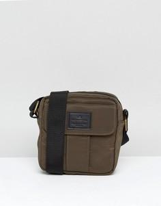 Сумка цвета хаки с карманом ASOS - Зеленый