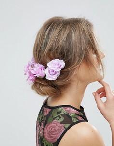 Броские заколки для волос ASOS - Фиолетовый
