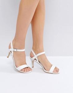 Босоножки на низком каблуке New Look Bridal - Белый
