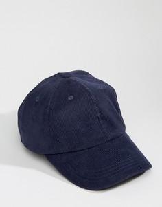 Вельветовая бейсболка Dead Vintage - Темно-синий