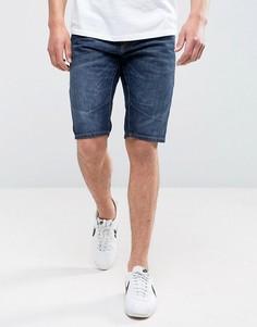 Джинсовые шорты длиной до колена Jack & Jones Intelligence - Синий