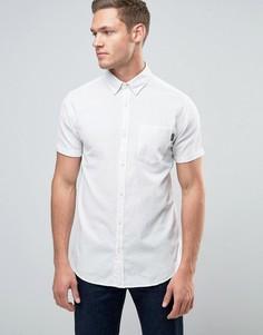 Рубашка в полоску с короткими рукавами Jack & Jones Originals - Белый