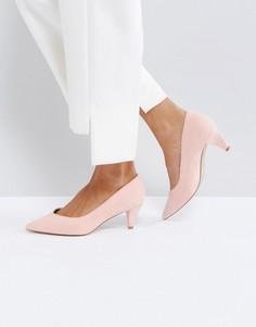Туфли на каблуке-рюмочка ASOS SALSA - Розовый