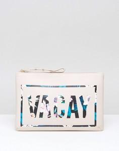 Дорожная сумка на молнии New Look Vacay - Белый