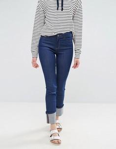 Прямые джинсы с отворотами Waven Mari - Синий