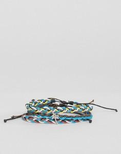 3 браслета с вощеным шнурком Classics 77 - Мульти