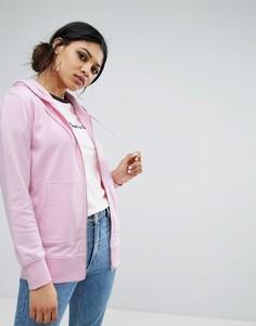 Oversize-худи на молнии Daisy Street - Розовый