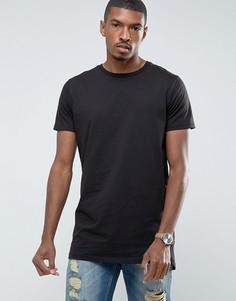 Длинная футболка Brave Soul - Черный