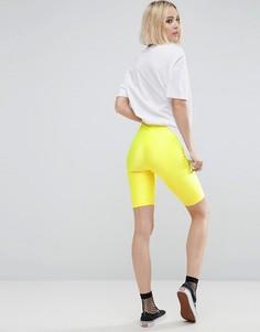 Леггинсы-шорты ASOS Disco - Желтый
