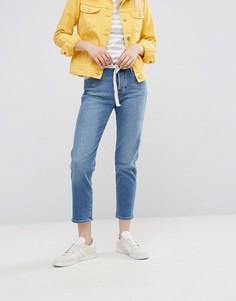 Укороченные джинсы прямого кроя Wrangler - Синий