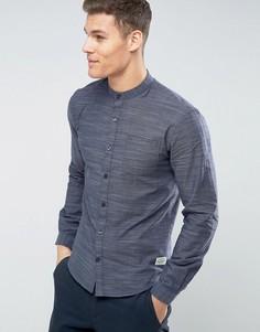 Рубашка с воротником на пуговицах Lindbergh - Темно-синий