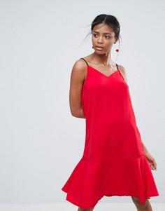 Платье-комбинация New Look - Красный