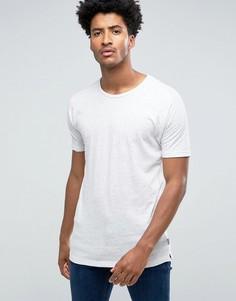 Однотонная футболка Bellfield - Кремовый