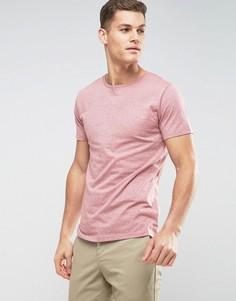 Эластичная футболка с круглым вырезом Lindbergh - Розовый