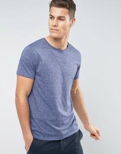 Эластичная футболка с круглым вырезом Lindbergh - Синий