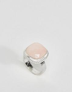 Кольцо с розовым кварцем Pieces Karina - Золотой