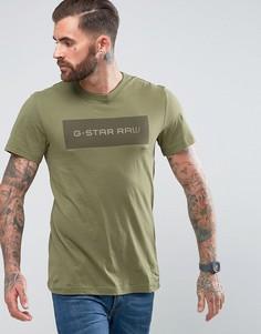 Футболка G-Star - Зеленый