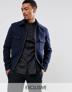 Куртка Харрингтон Noak - Темно-синий